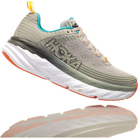 Hoka One One Bondi 6 Running Shoes Women Vapor Blue/Wrought Iron